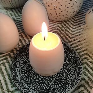 Äggljus - Hönsägg med äggula