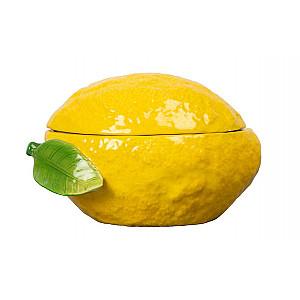 Skål med lock Lemon