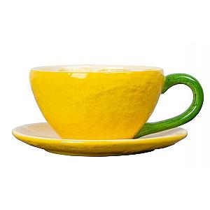 Kopp med fat Lemon