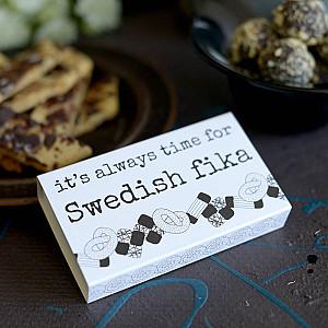 Tändstickor Swedish fika