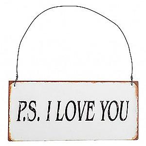 Zeichen PS I LOVE YOU