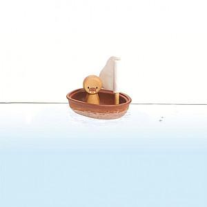 Segelbåt med Valross