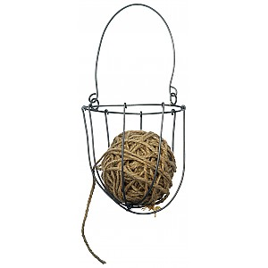 Basket with jute string