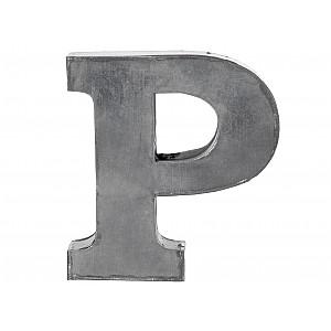 Zinc Letter P