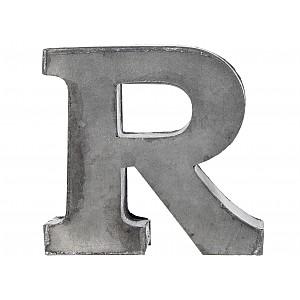 Zinc Letter R