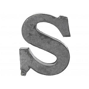 Zinc Letter S