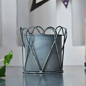 Zinc Pot Heart