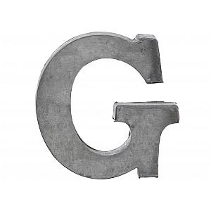 Zinc Letter G