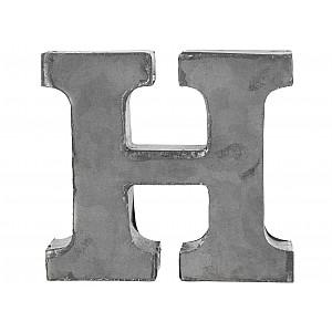 Zinc Letter H