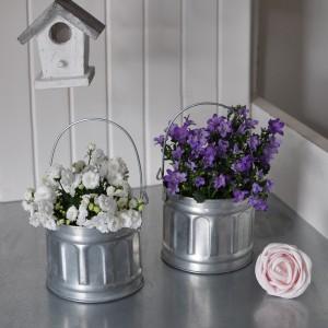 Planter / Zinc Pot with handle