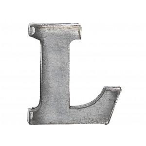 Zinc Letter L