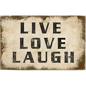 Canvas Live Love Laugh