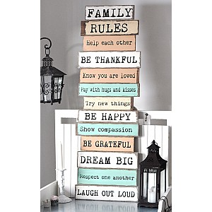 Sign FAMILY RULES