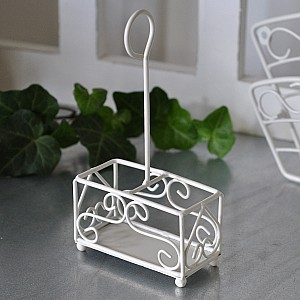 Salt & pepper rack - cream