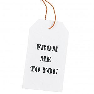 Gift tags 12 pcs