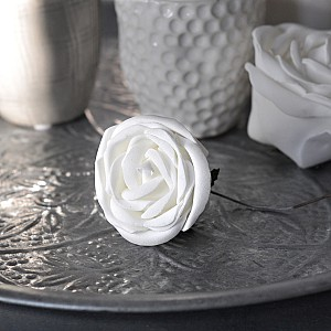 Decor Rose White 5 cm