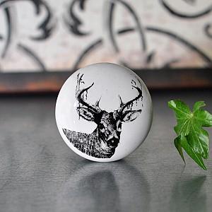 Porcelain Knob Deer