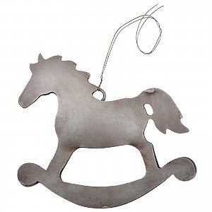 Rocking horse in sheet metal