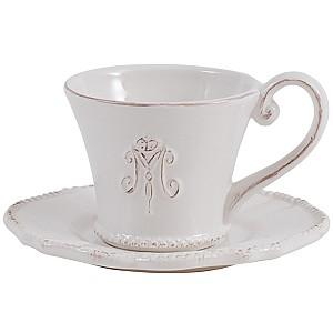 Tea Cup / Saucer Maison