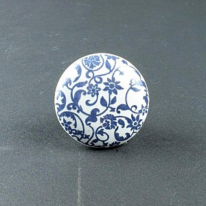 Knob Flower Blue