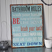 Badezimmer-Zeichen