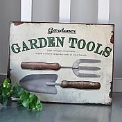 Trädgårdsskyltar