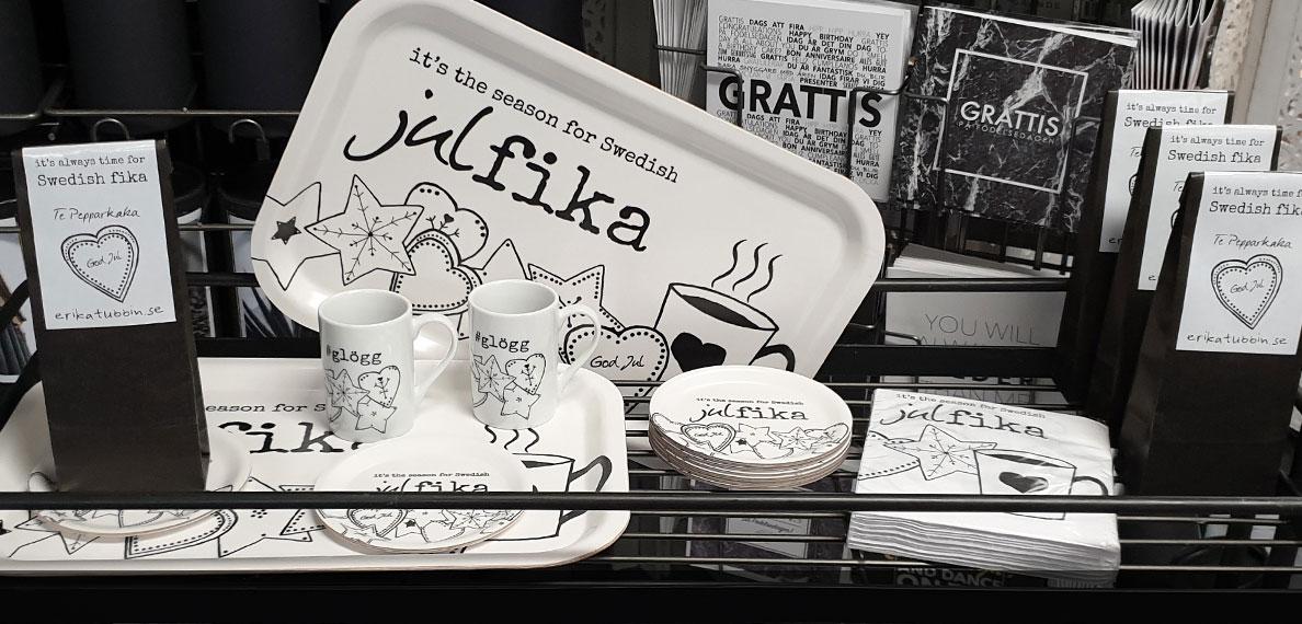 it's the season for Swedish julfika