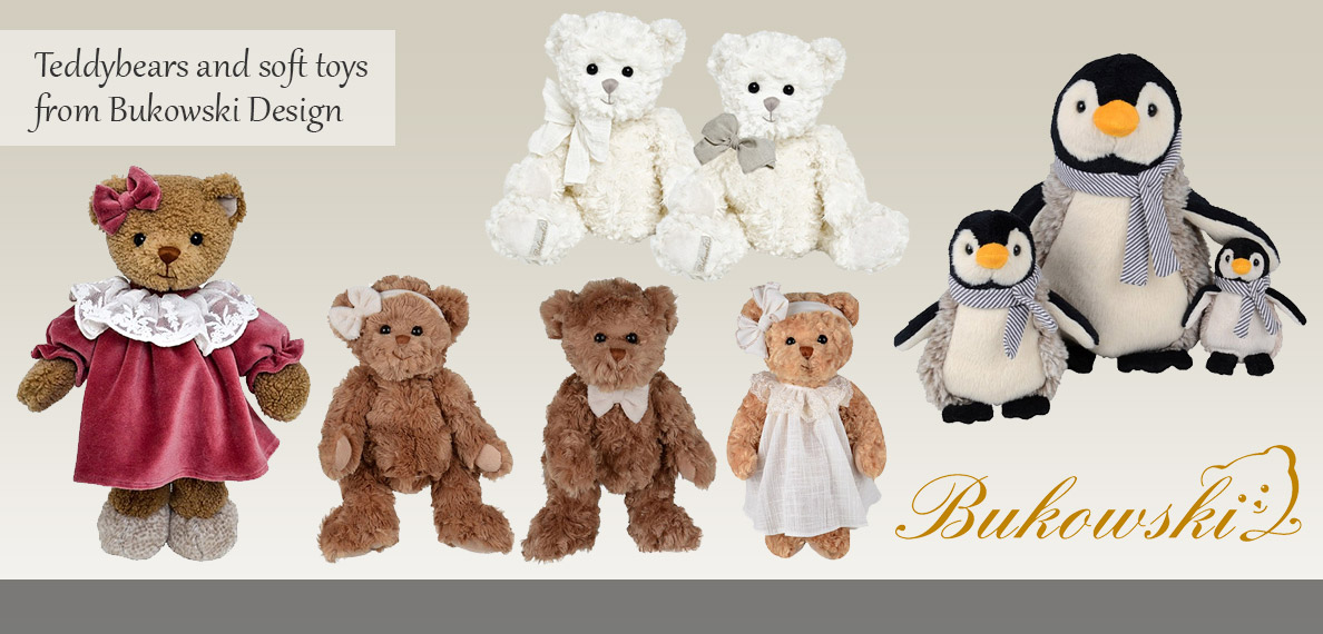 Bukowski Teddy Bears and Soft Toys