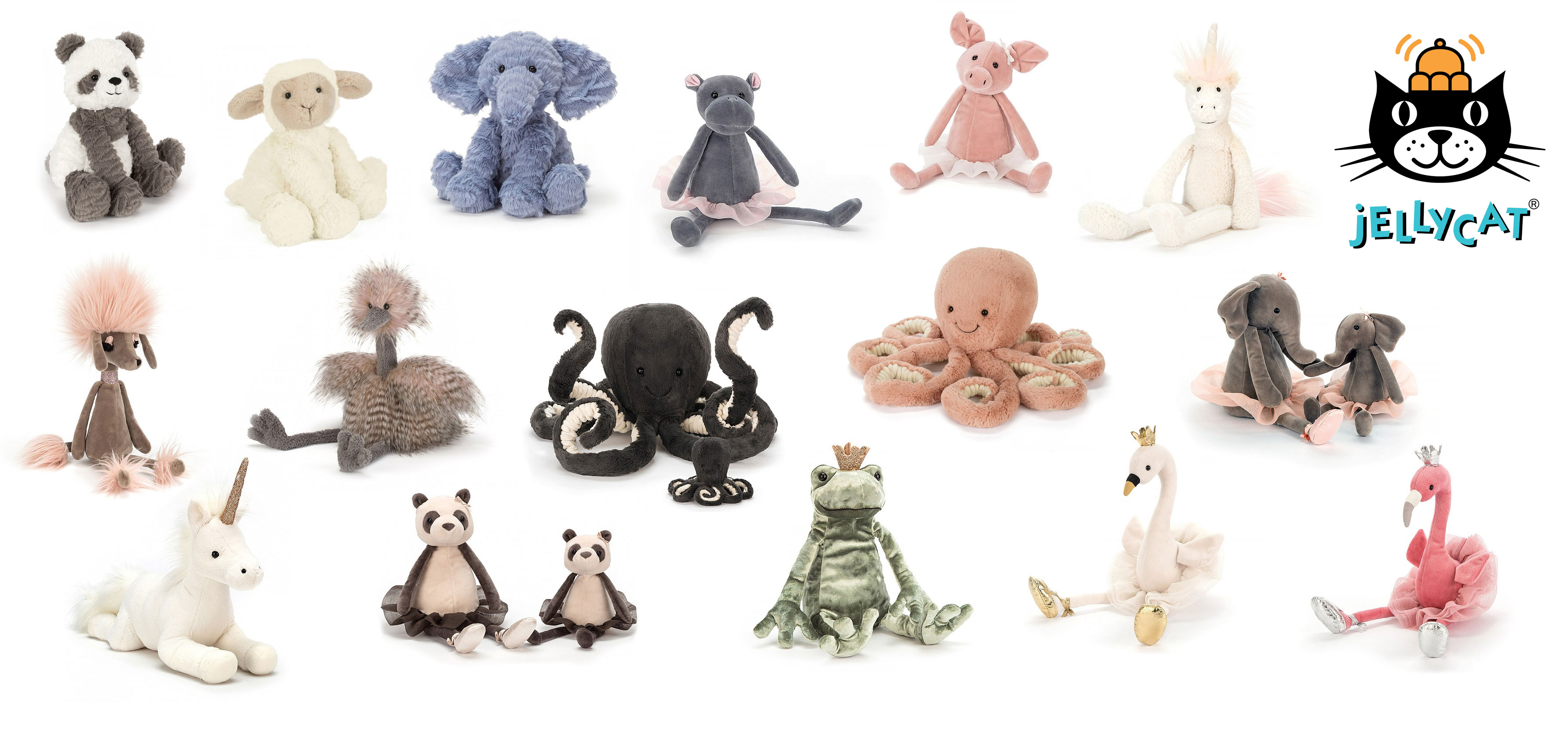 separation shoes 3fe4e 3abdb Jellycat Cute, fun and wonderfully soft, high quality soft toys.