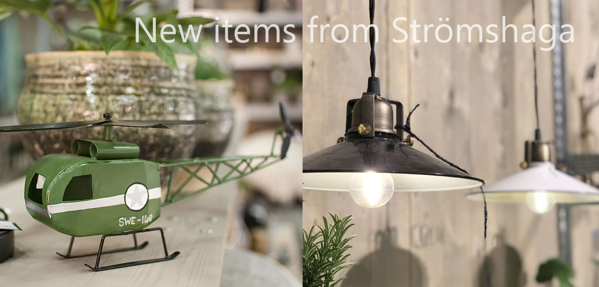 New items from Strömshaga