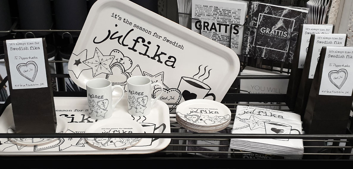 it's the season for Swedish julfika