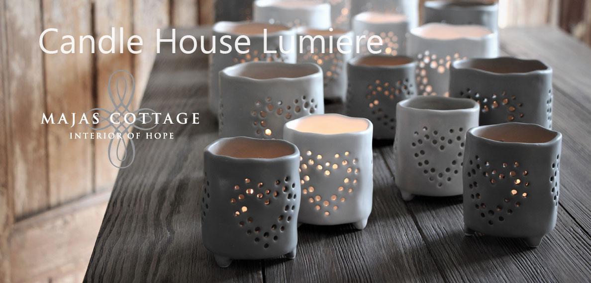 Majas Ceramic Lanterns