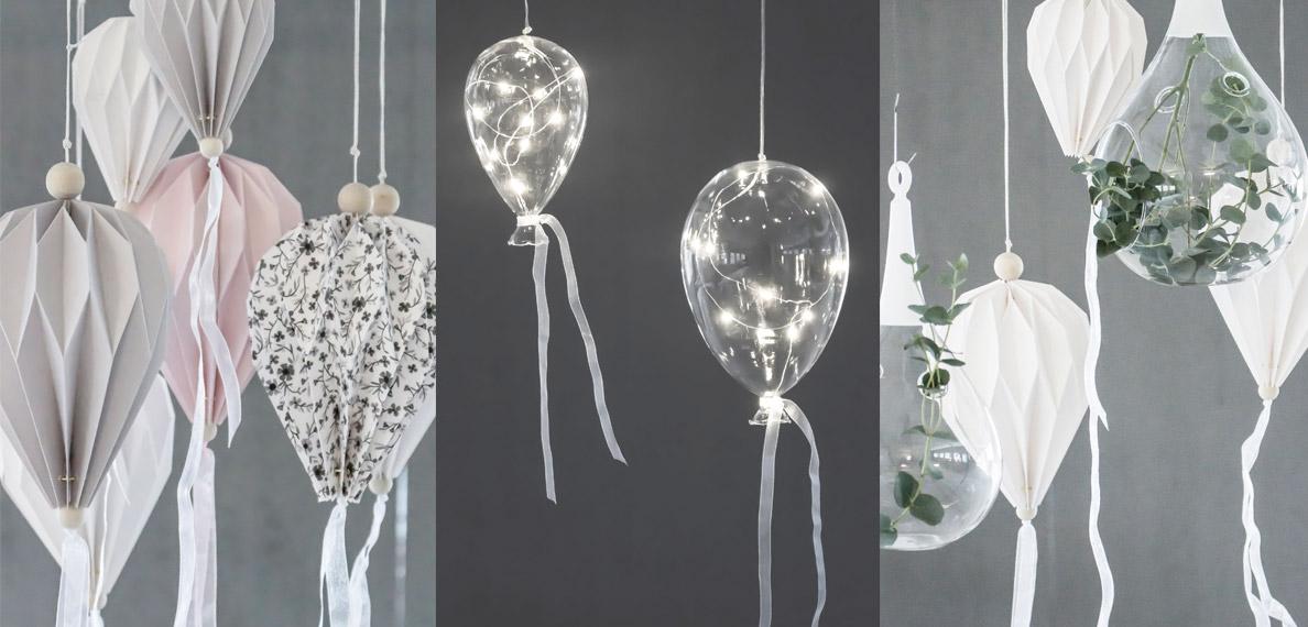 Vackra ballonger