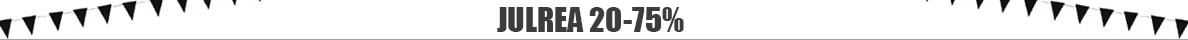 REA med 20-75% rabatt på utvalda varor t.o.m. 13/1 2020. Reservation för slutförsäljning.